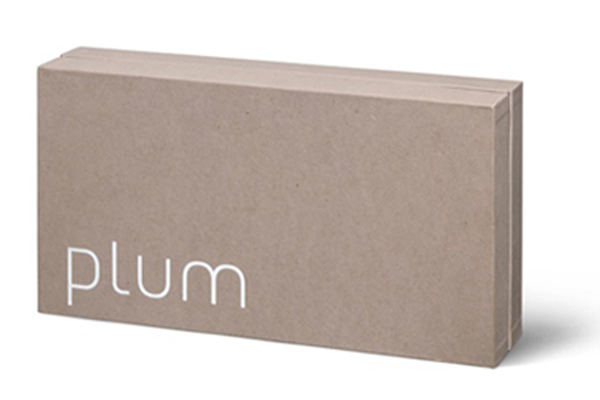 Plum-lightswitch-high-end-bio-based-packaging-no-plastic-PaperFoam-sustainable-packaging