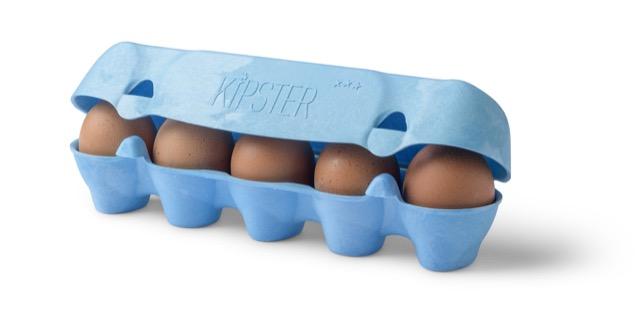 Kipster sustainable egg packaging