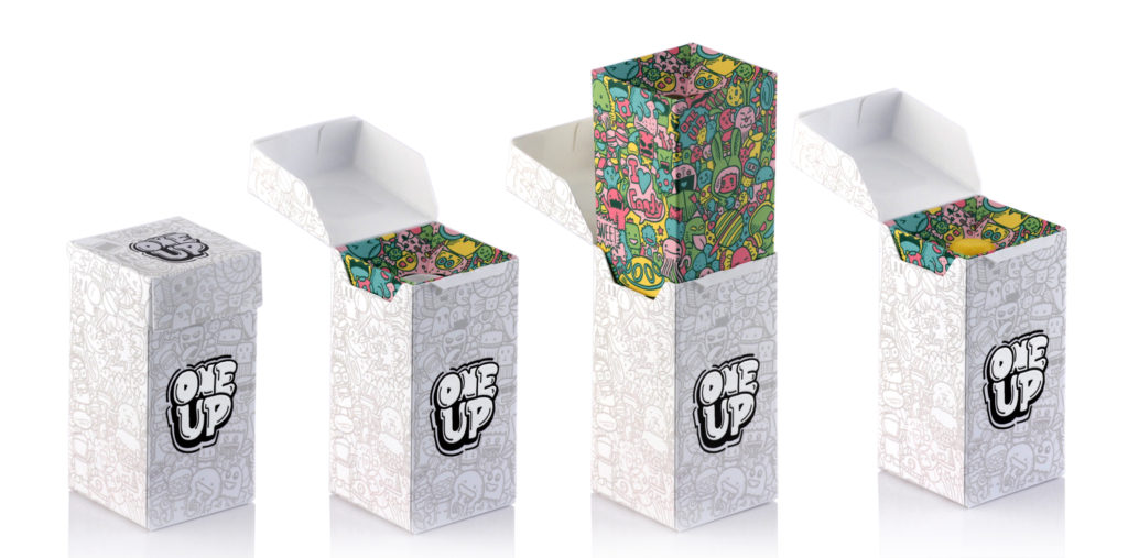 Paper recyclable dispenser with PaperFoam tube inside.