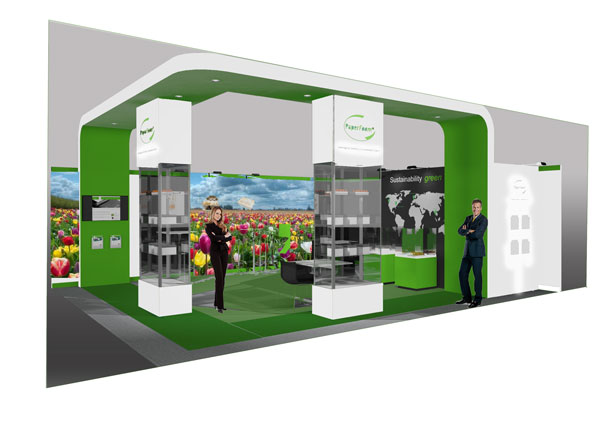 Paperfoam stand at Interpack 2017